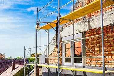 small gorilla scaffolding house image