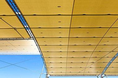small gorilla scaffolding temporary roofs
