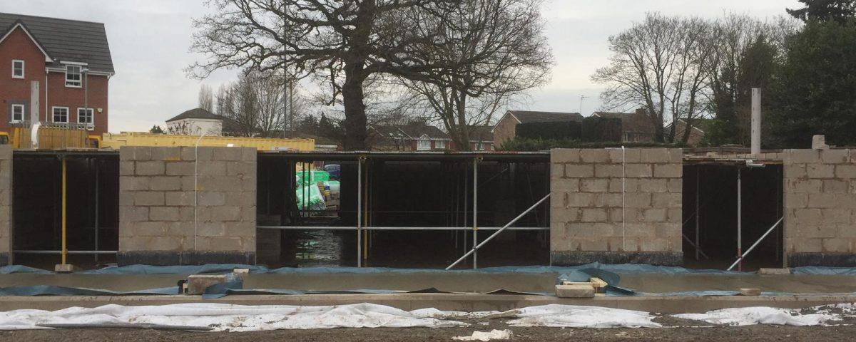 Cinderella Pavilion Internal Scaffolding