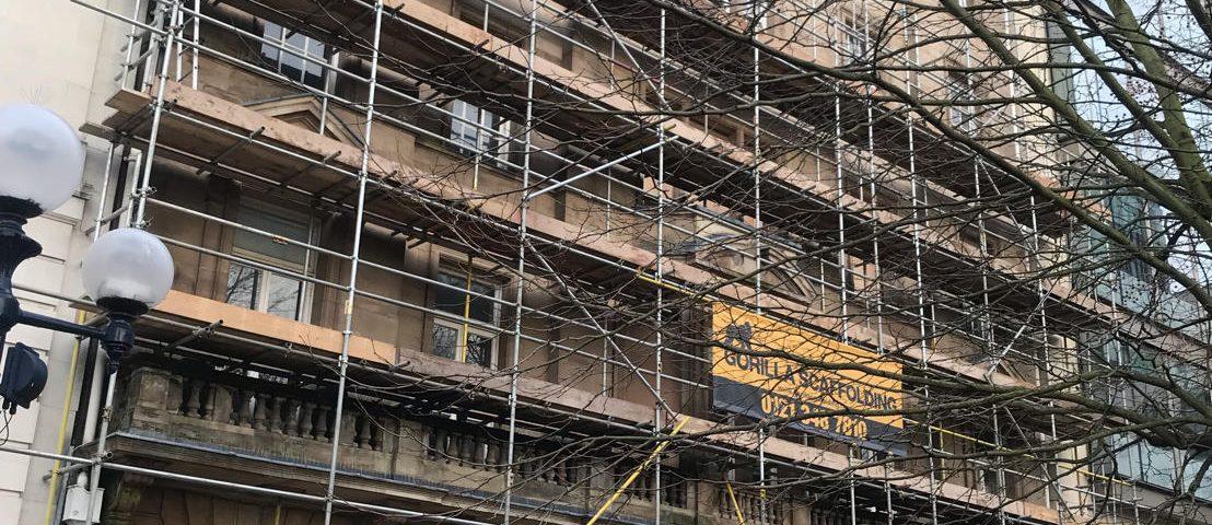 HSE scaffolding safety reminder