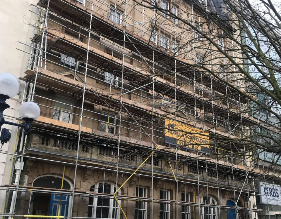 HSE scaffolding safety reminder